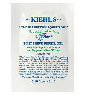 Post Shave Repair Gel Sample