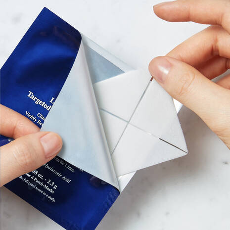 Line-Minimizing Targeted Triangle Patch-Masks
