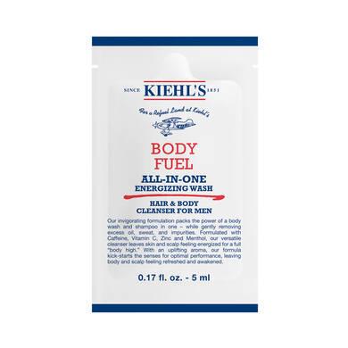 Body Fuel Wash Sample