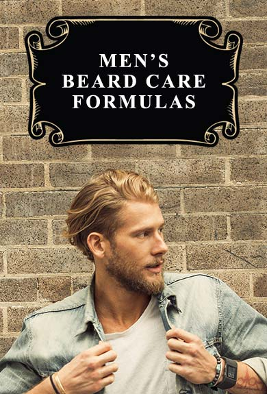 MEN'S BEARD CARE FORMULAS