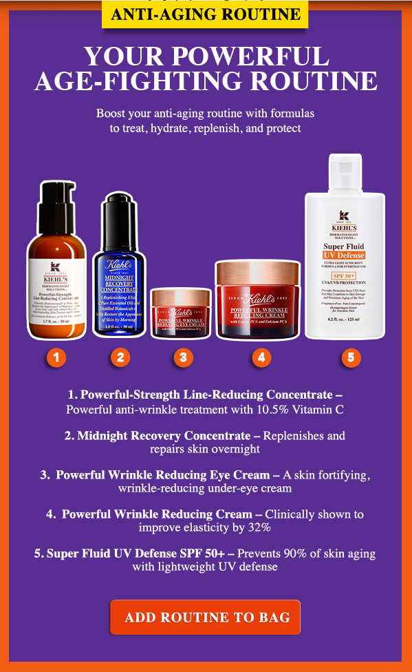 Antiaging routine