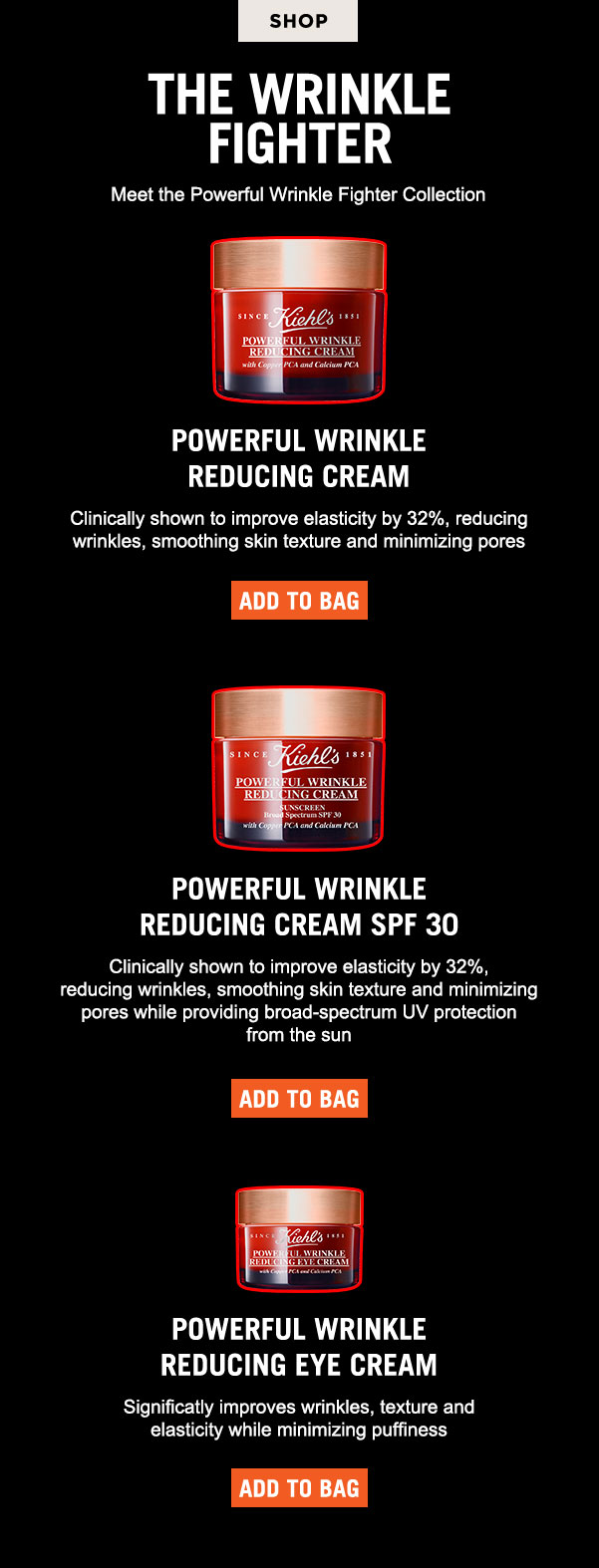 Meet the Powerful Wrinkle Fighter Collection