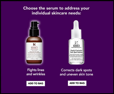 Choose the serum to address your individual skincare needs