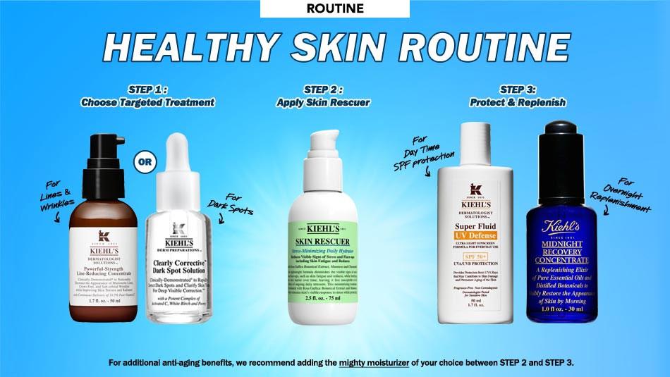 Healthy Skin Routine